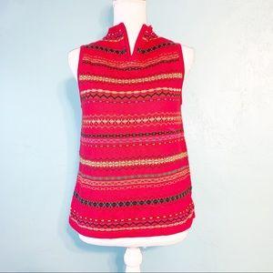 Susan Bristol Vintage Midwest Knitted Top